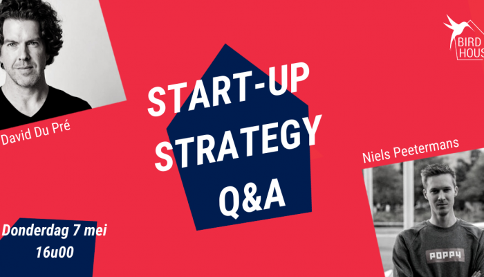 Start-up Strategy Q&A: David Du Pré & Niels Peetermans