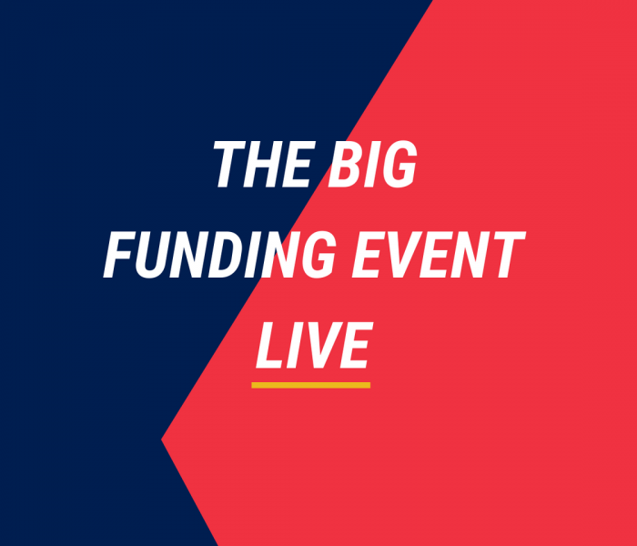 The Big Funding Event Live – powered by EYnovation™
